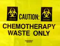 Chemotherapy Waste Low Density Gusseted Liner