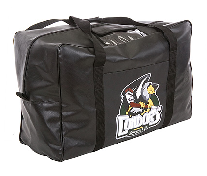 Custom coaches hockey bags with team crest