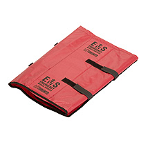 Folded EMS Airway Roll Bags