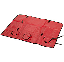Opened EMS Airway Roll Bags